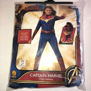 Youth captain marvel Halloween costume L 12/14